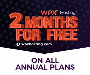 WPX Hosting Black Friday Offer