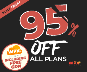 WPX Hosting 95% OFF