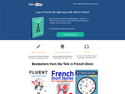 www.talkinfrench.com