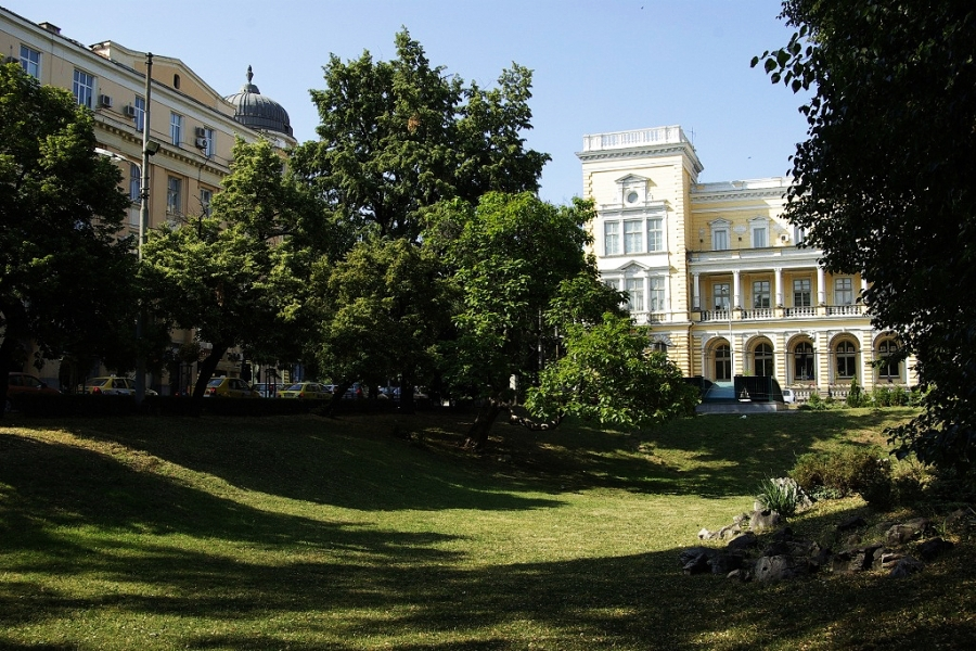 The Beautiful Crystal Gardens in the heart of Sofia