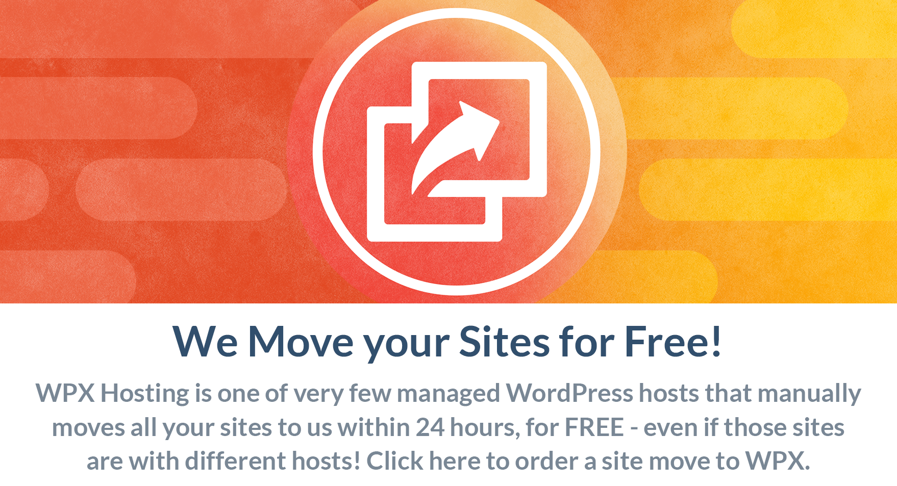 Free Migration with WPX Hosting