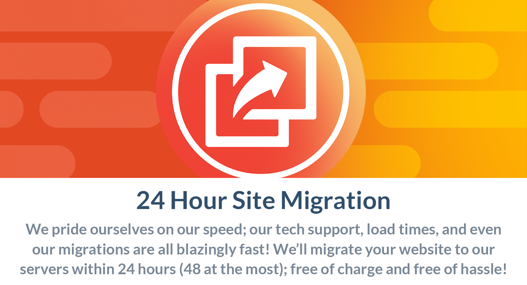 24 Hour Site Migration