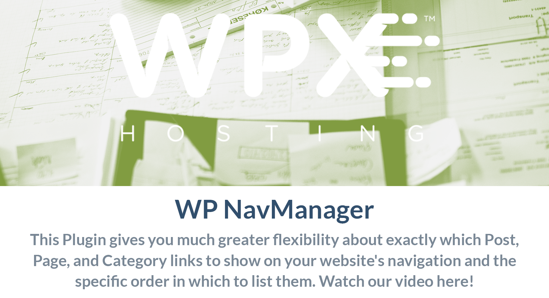 WP Nav Manager